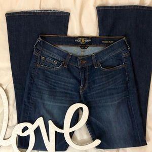 Lucky Brand Charlie Flare Dark Wash Denim Jeans